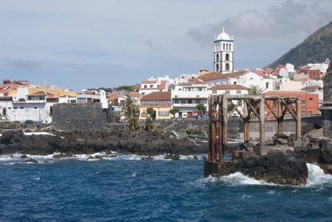 La petite ville de Garachico (Photo : André Laurenti)