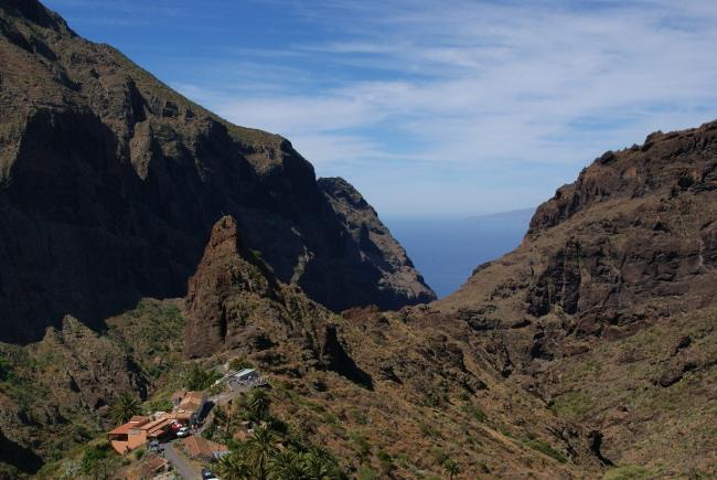 Masca, le point de départ pour une descente tout le long jusqu'à l'océan. (Photo : André Laurenti)