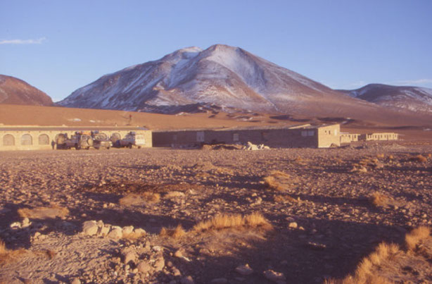 Le refuge d'un soir situé sur l'altiplano à 4 260 m. (Photo : André Laurenti)