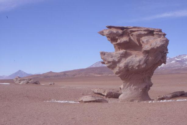 Des paysages qui auraient dit-on, inspiré Salvador Dali. (Photo : André Laurenti)