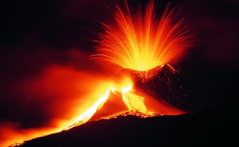 L'Etna – les paroxysmes de 2001 (Sicile)