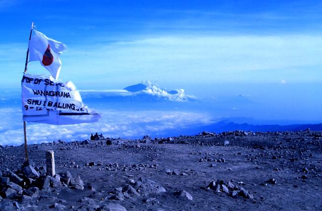 Le sommet du Semeru est à 3 670 m d'altitude. (Photo : André Laurenti)