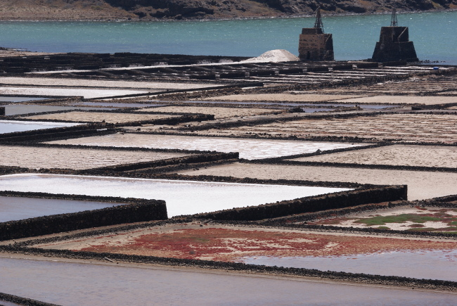 Les salins de Jameos del Agua. (Photo : André Laurenti)