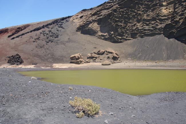 La lagune verte. (Photo : André Laurenti)