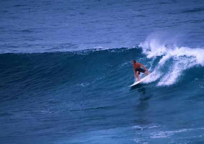 Hawaii est avant tout le pays du surf. (Photo : André Laurenti)