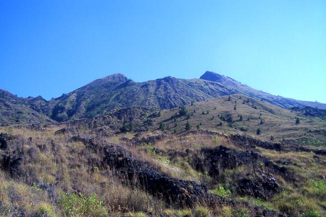 Le Batur le dernier volcan de ce voyage. (Photo : André Laurenti)