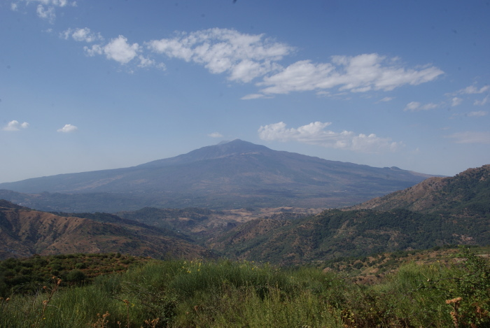 Le versant nord de l'Etna (Photo : André Laurenti)