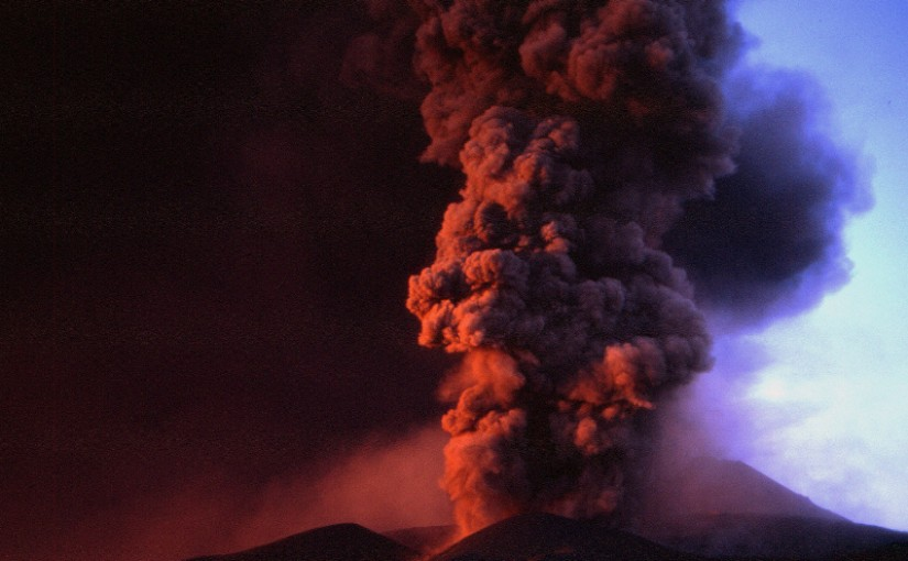 Etna – l'éruption de 2002