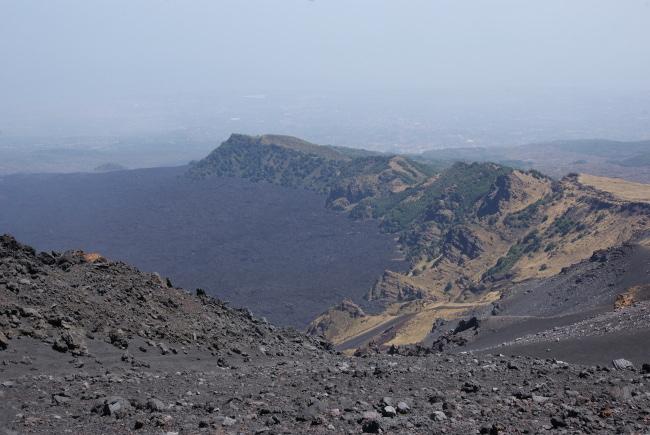 Valle del Bove dont l'origine serait un énorme glissement de flanc (Photo : André Laurenti)