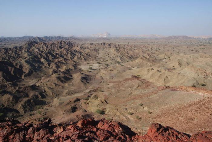 Panorama depuis le sommet du fumeur noir. (Photo : André Laurenti)