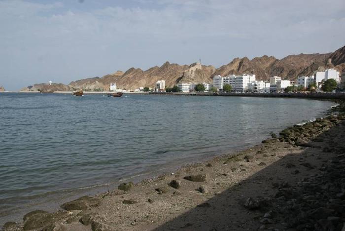 La corniche de Muttrah à Mascate la capitale d'Oman. (Photo : André Laurenti)