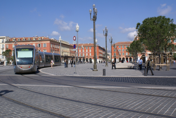 Place Masséna (Photo : André Laurenti)