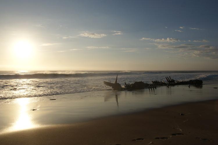 La côte des squelettes (Photo : André Laurenti)