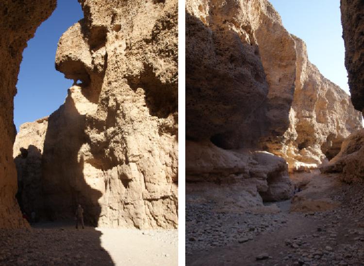 Le canyon de Sesriem (Photo : André Laurenti)
