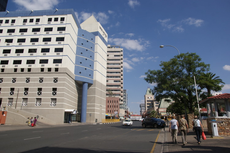 Windhoek la capitale (Photo : André Laurenti)
