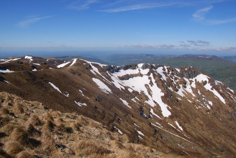 Depuis le sommet s'étend un magnifique panorama (Photo : André Laurenti)