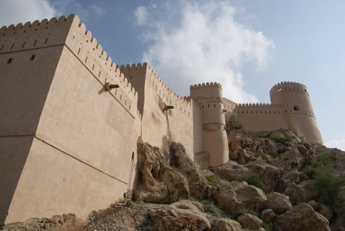 Le fort de Rustaq (Photo : André Laurenti)