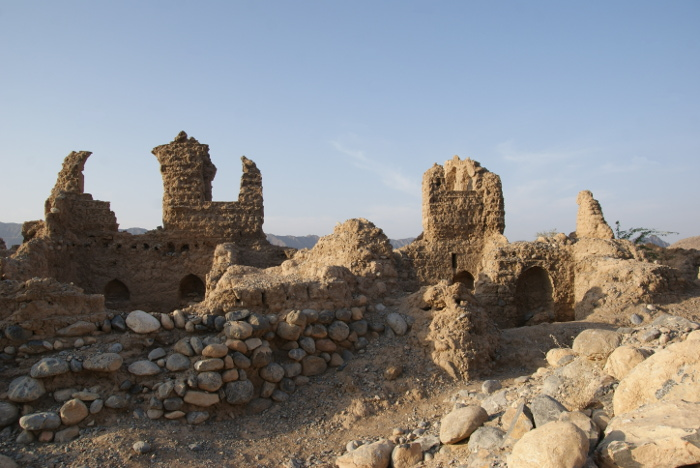 Les ruines de Tanuf (Photo : André Laurenti)