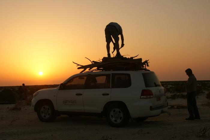 Nous atteignons enfin la mer d'Arabie (Photo : André Laurenti)