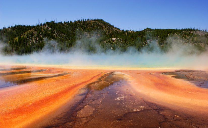 Yellowstone : la palette de l'artiste (partie 1)