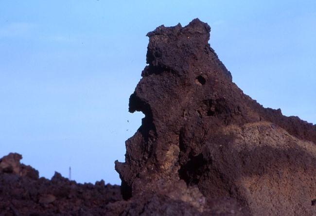 Celui qu'on appelle De Gaulle sur l'île de Stromboli (Photo : André Laurenti)