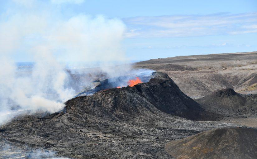 Islande : naissance d'un volcan